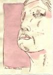 Maß des Windes - Zeichnung Susanne Haun - 20 x 15 cm - Tusche auf Silberburg Bütten