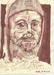 Tony Kurz - Zeichnung von Susanne Haun - 20 x 15 cm - Tusche auf Bütten