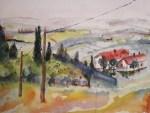 Entstehung Landschaft Toskana Zustand 6