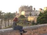 Ich zeichne auf Mallorca die Kathedrale von Palma - Foto von Jeanette Zeidler
