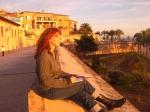 Pause beim Zeichnen zum Sonnen - Foto von Jeanette Zeidler