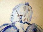 Ausschnitt Amor - Zeichnung von Susanne Haun