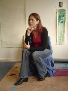 Susanne Bröer Januar 2005 - Foto von Susanne Haun
