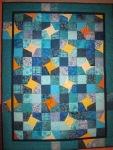 Susannes Träume - Quilt von Susanne Bröer - 160 x 124 cm - handgenäht