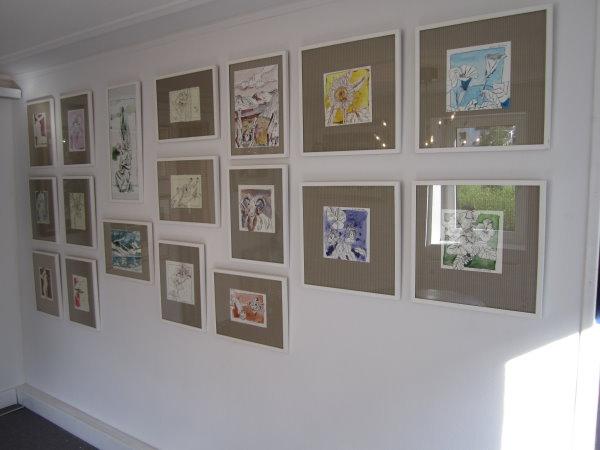 """""""Meine"""" Wand in der Treffpunkt Kunst"""