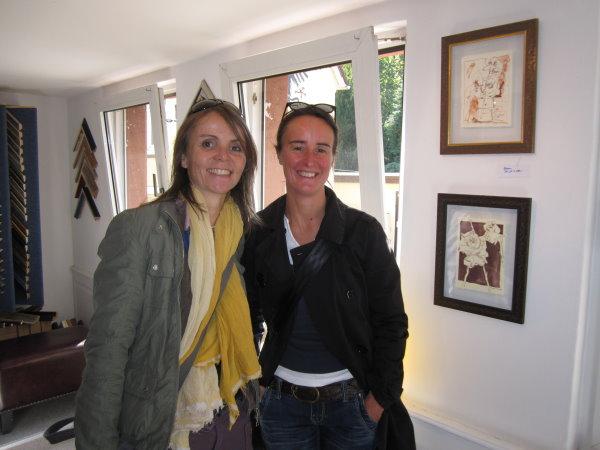 Claudia und Susanne
