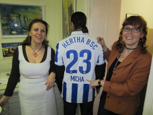 Martina Micha und ich