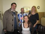 Tom, Micha, Petra und Martina ---- alle in Facebook - Foto von Susanne Haun