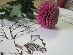 Ophelia und die Chrysanthemen - Foto von Susanne Haun