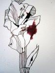 Ausschnitt 4 Orphelia Zeichnung von Susanne Haun