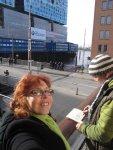 Selbstfoto vor der Elbphilharmonie - Foto von Susanne Haun