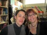 Astrid und ich bei Boesner beim zuhören - Foto von Susanne Haun