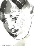 Hades - Zeichnung von Susanne Haun - 22 x 17 cm - Tusche auf Bütten