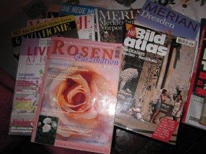 Mein Stapel Zeitschriften - Foto von Susanne Haun
