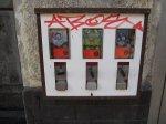 Kaugummiautomaten mit Kaugummi - Foto von Susanne Haun