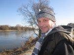 Andreas Mattern an der Elbe - Foto von Susanne Haun