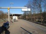 Selbst der S-Bahnhof ist in Sonnenlicht getaucht - Foto von Susanne Haun