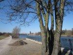 Elbradweg von Buckau nach Magdeburg City - Foto von Susanne Haun