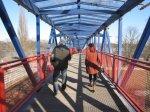 Brücke an der Elbe - Foto von Susanne Haun
