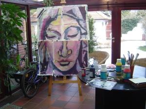 2002 - Pita - Puzzle von Susanne Haun - 140 x 100 cm