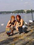 2005 Coco und ich am Tegeler See - Foto von Susanne Haun Selbstauslöser