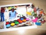 Claudia brachte mir das Foto und die Farben aus den Anden mit - Foto von Susanne Haun