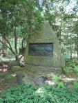 Das Grab des Tiermalers Wilhelm Kuhnert - Foto von Susanne Haun