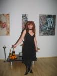 Ich rede ein paar Worte zur Ausstellungseröffnung - Susanne Haun