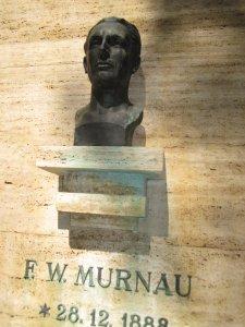 Büste von F.W. Murnau - Foto von Susanne Haun