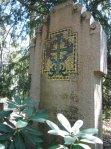 Mosaik auf Grabstein - Foto von Susanne Haun