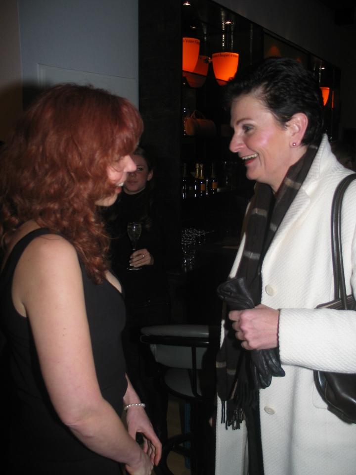 Petra Lange war auch Gast, in ihrer Galerie stelle ich dieses Jahr vom 23.6. - 10.8.2011 aus http://www.galerielange.de/