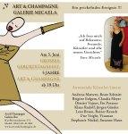 Freitag, den 3. Juni 2011 - 5 Jahre Galerei Art & Champagne - feiert mit!