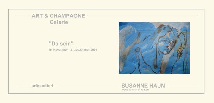 Einladung 2006 Art & Champagner_von_Susanne Haun