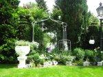 Spiegel vergrößern den Garten - Foto von Susanne Haun