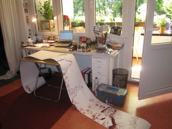 Mein heutiger Arbeitsplatz - Foto von Susanne Haun