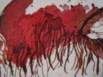 In den Haaren Asasels ist der Eingang zur Hölle - Zeichnung von Susanne Haun