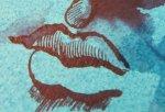 Ausschnitt der Venus von Nimes - Zeichnung von Susanne Haun - 40 x 30 cm - Tusche auf eingefärbtes Hahnemühle Bütten