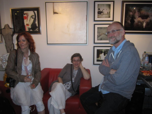 Conny Niehoff, Petra Rau und ihr Mann Simon - Foto von Susanne Haun