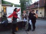 Annette Marx und Christna und Roman Naan und Aurelia Heilwanger - Foto von Conny Niehoff