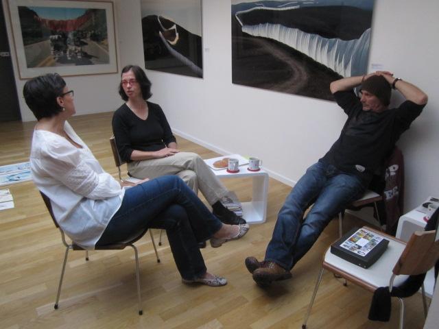 von links nach rechts: Angelika, Frederieke und Andreas - Foto von Susanne Haun