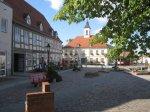Der Marktplatz von Angermünde - Foto von Susanne Haun