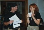 2002 - du hälst die erste Laudatio für mich - Foto von Achim Haun