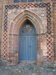 Die Marienkirche in Angermünde - Seitentür - Foto von Susanne Haun