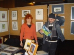 2006: Grafikmesse in Borken - Foto von Nicole Behnsen