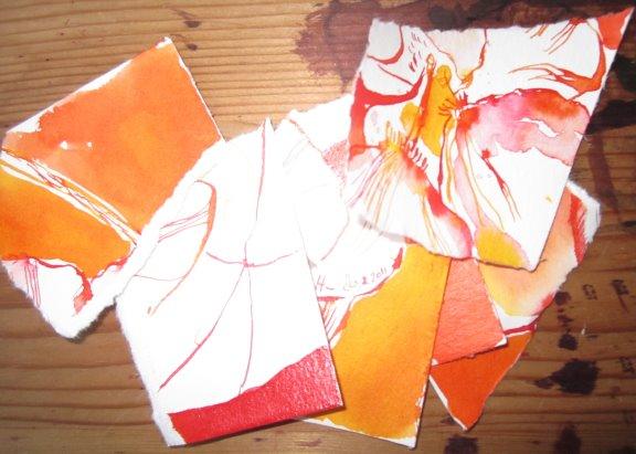 Mein Kollege Andreas sagt immer, jeder Künstler hat einen Papierkorb, er muss nur die Größe haben es zuzugeben! Und so ist es auch - Foto von Susanne Haun