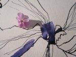 Ich mag diese Vergrößerung - Phlox - Ausschnitt Zeichnung von Susanne Haun