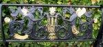 Die Banklehne im Gartenzimmer Einsamkeit - Foto von Susanne Haun