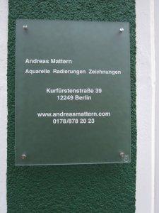 Atelier Andreas Mattern ---- Viel Glück Kumpel ------ Foto von Susanne Haun