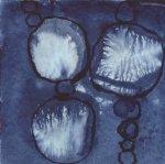 Frage - Entscheidung - dunkel - 3 - Zeichnung von Susanne Haun - 20 x 20 cm - Tusche auf Bütten