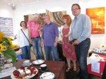 Ein Foto der Akteure: Petra Rau, Karsten Peters, Sven Brauer, Susanne Haun und Frank Koebsch